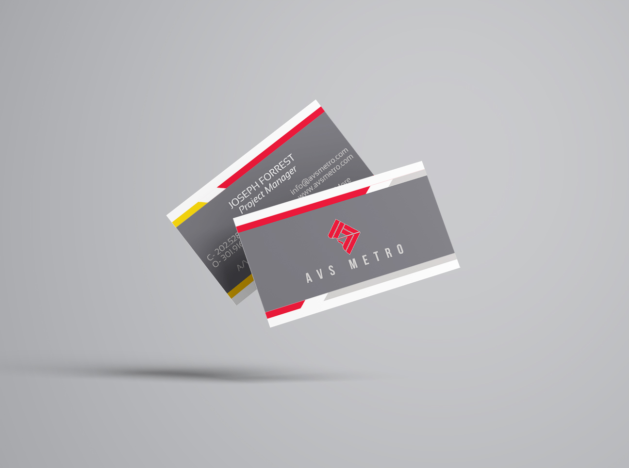 AVS_business card mockup